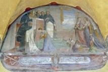 Margareta ikles den dominikanske drakten